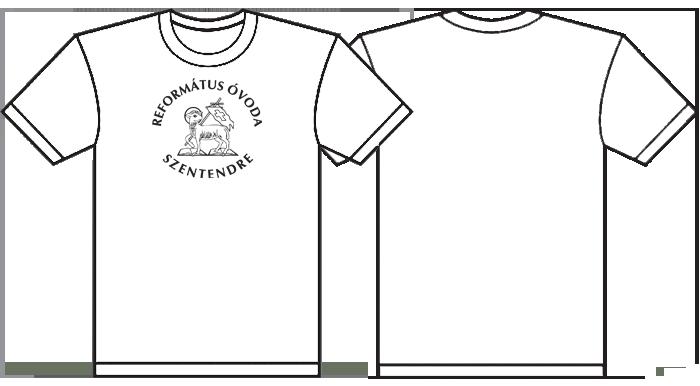 óvodai póló nyomás-szitanyomás