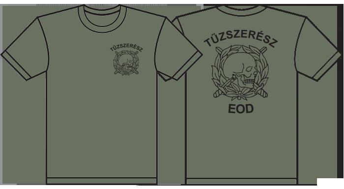 katonai póló