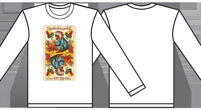 csapat póló